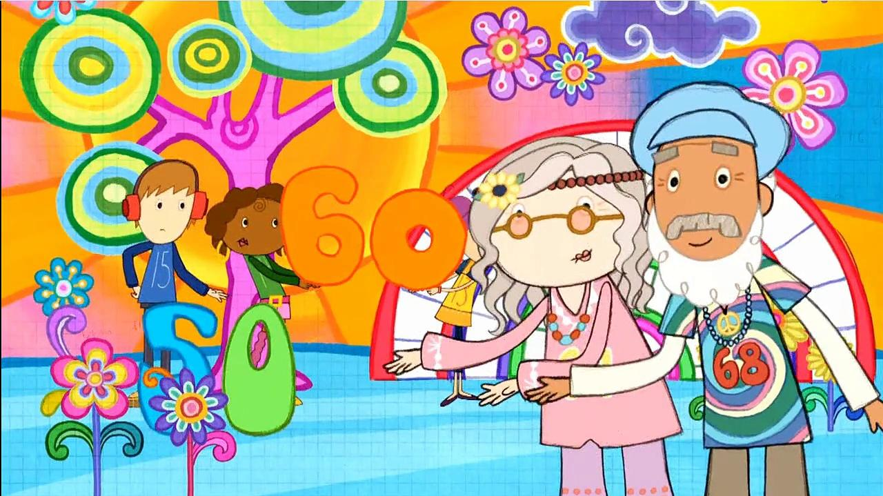 Peg + Cat - The Groovy Sixties Problem - Bad Jack is Back
