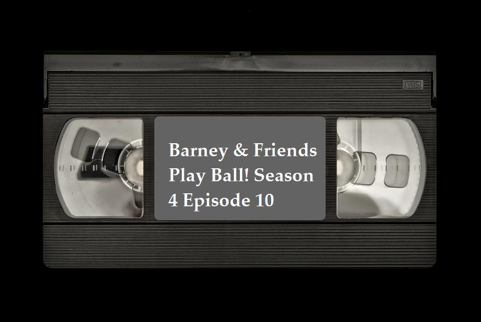 Barney & Friends Play Ball! Season 4 Episode 10 VHS PBS ...