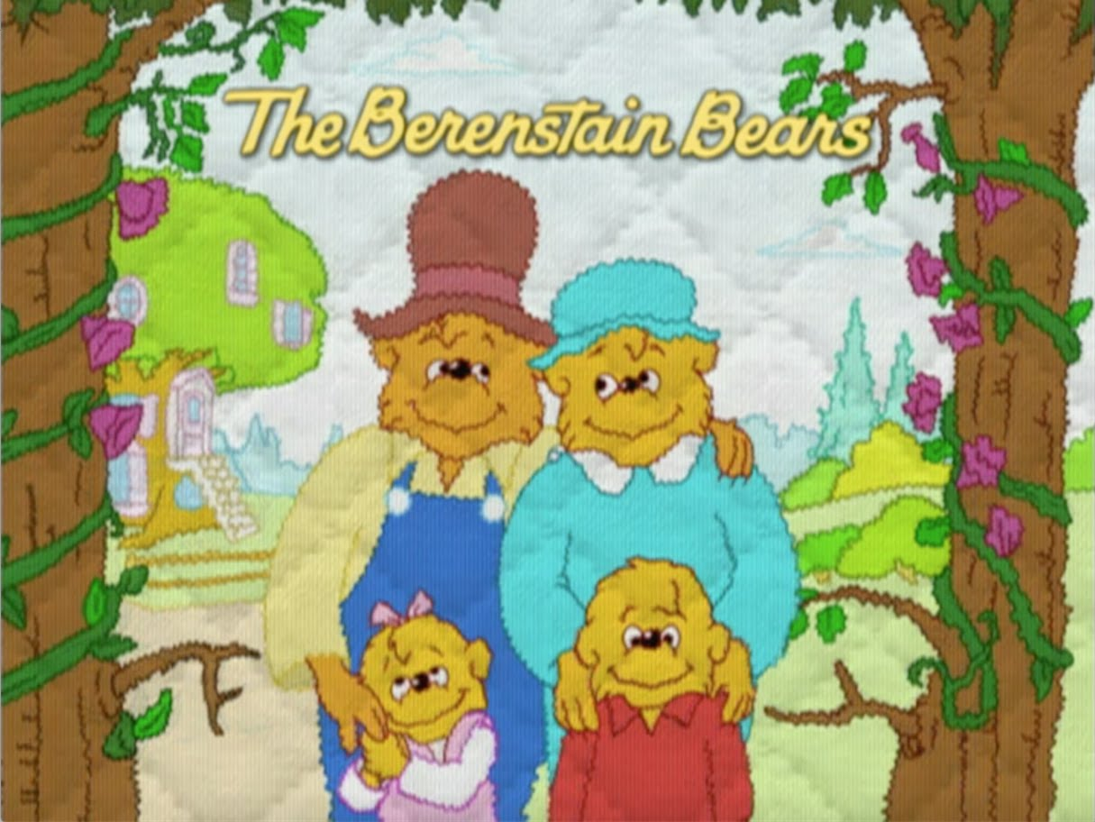 Magnificent Berenstain Bears Art Coloring Pages Pbs Kids Pictures ...