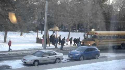 Very safety & well-organized School Bus in Toronto!