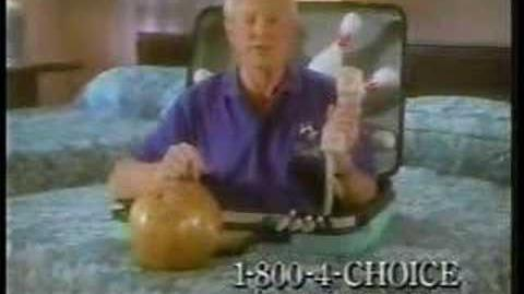 Choice Hotels Dick Weber Bowling Commercial