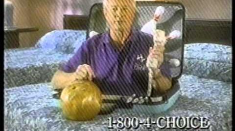 Choice Hotels spot - Dick Weber (1994)