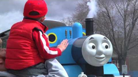 Day Out with Talking Thomas at Essex Steam Train (2014)