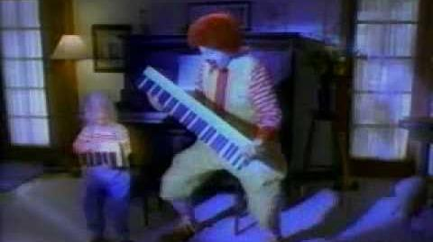 McDonald's Ad- Piano Practice Long