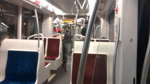 Riding and Viewing the New Toronto Streetcars (Bombardier Flexity Outlook)
