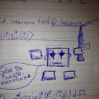 A Tutorial Bot sketch, by Xaq.