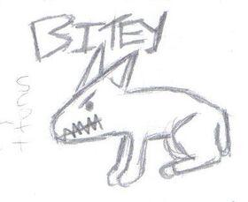 Bitey the dog