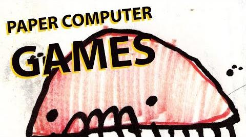 """What Are """"Paper Computer Games""""?"""
