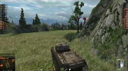 World of Tanks (PC) - M6 Gameplay HD