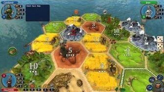 Catan PC Game Ep3 ~ Random Game Part 1