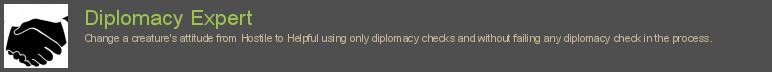 Diplomacy Expert