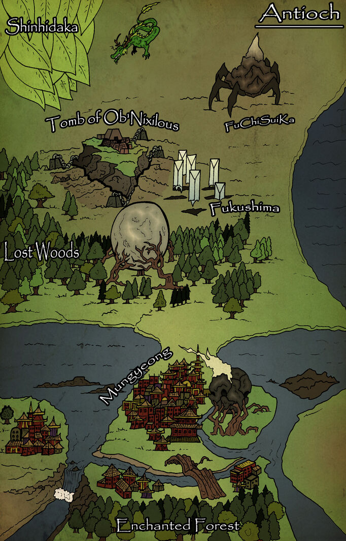 Antioch Map