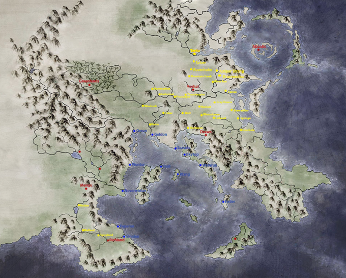 World Map (names)