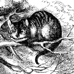 Cheshire Cat Tenniel