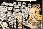 Mummy army