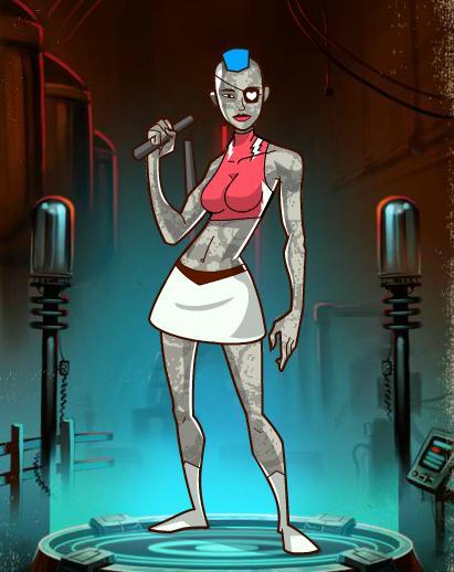 Punk Rock Girl | Public Domain Super Heroes | FANDOM powered