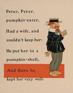 Peter Peter Pumpkin Eater 1 - WW Denslow - Project Gutenberg etext 18546