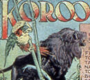 Koroo the Black Lion