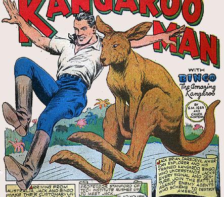 Kangaroo Man & Bingo | Public Domain Super Heroes | FANDOM ...