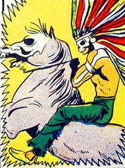 Terror-horse