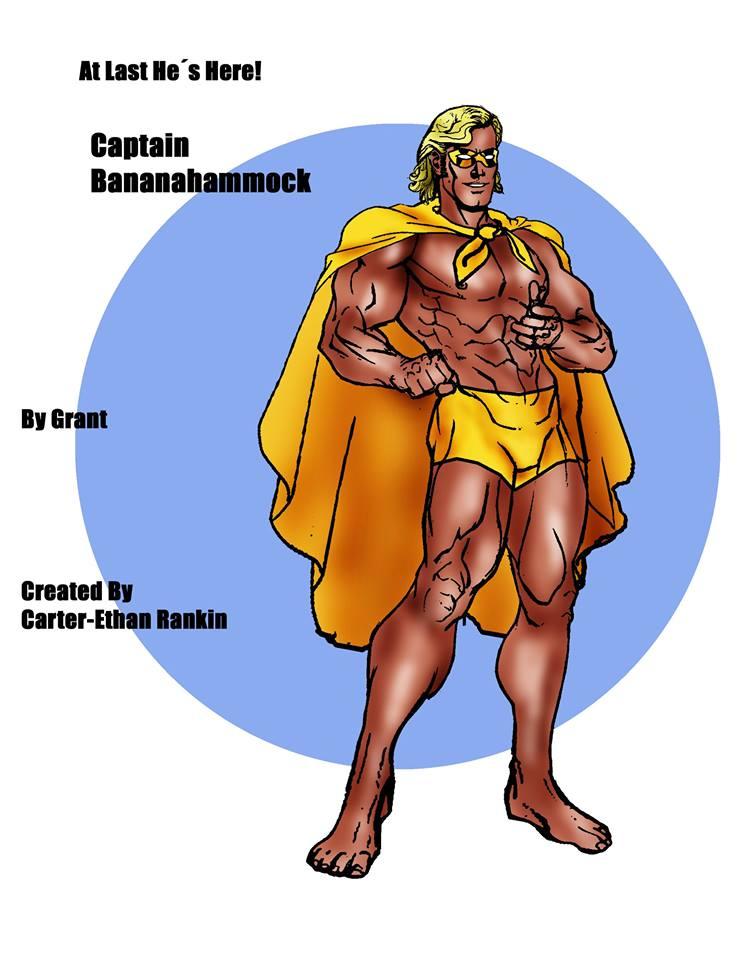 captain bananahammock  banahammock captain bananahammock   public domain super heroes   fandom      rh   pdsh wikia