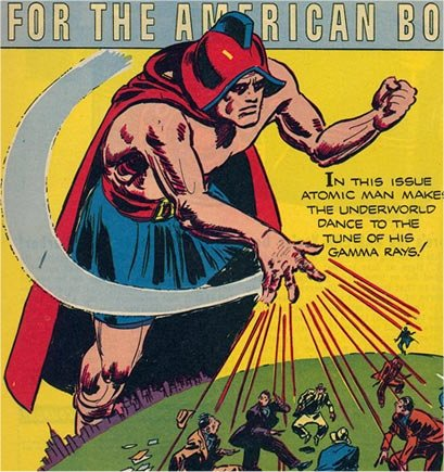 atomic man prize public domain super heroes fandom powered by