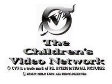 CVN logo used in the opening of Chuckle Toons Volume 5 - The Two Little Pups