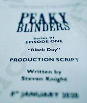 Black Day Pre-Production Script