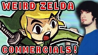 WEIRD ZELDA COMMERCIALS! - PBG