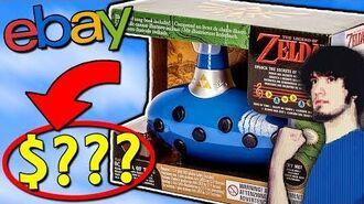 EXPENSIVE Ebay Stuff Legend of Zelda Toys! - PBG