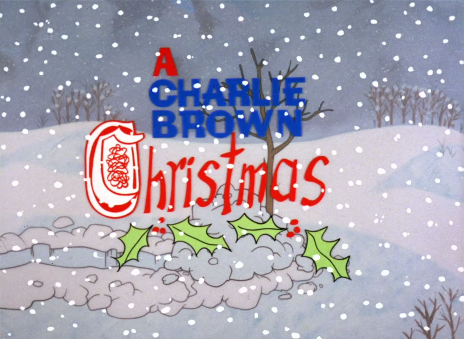 Charlie Browns Christmas Tree