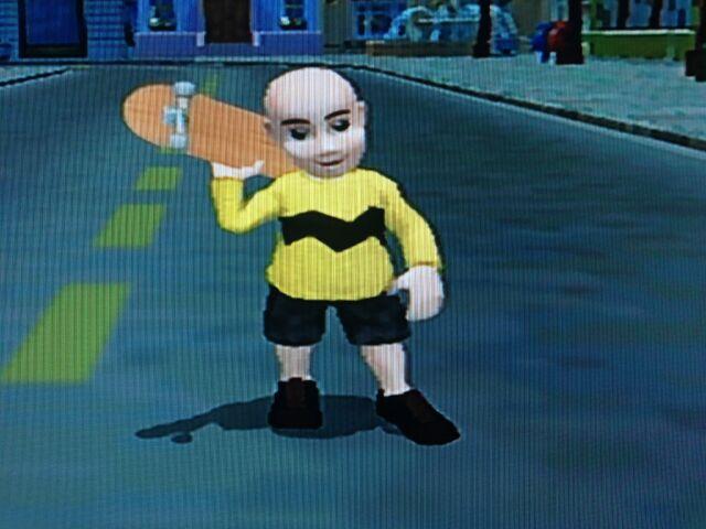 File:Charlie Brown On Skateboard.JPG