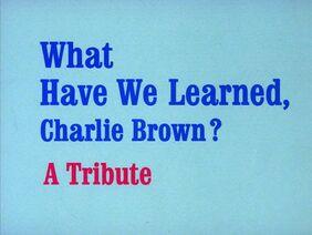 Title-WhatHaveWeLearnedCharlieBrown