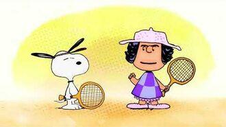 Peanuts - Tennis