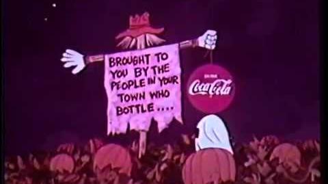 It's the Great Pumpkin Charlie Brown 1966 Coke sponsor opening part
