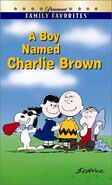 A Boy Named Charlie Brown Paramount VHS