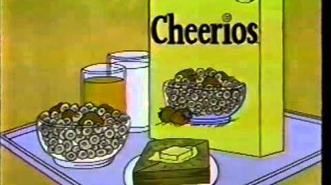 Peanuts 1984 Cheerios Commercial