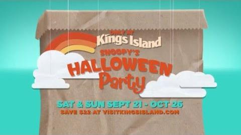 Kings Island- Snoopy's Halloween Party commercial