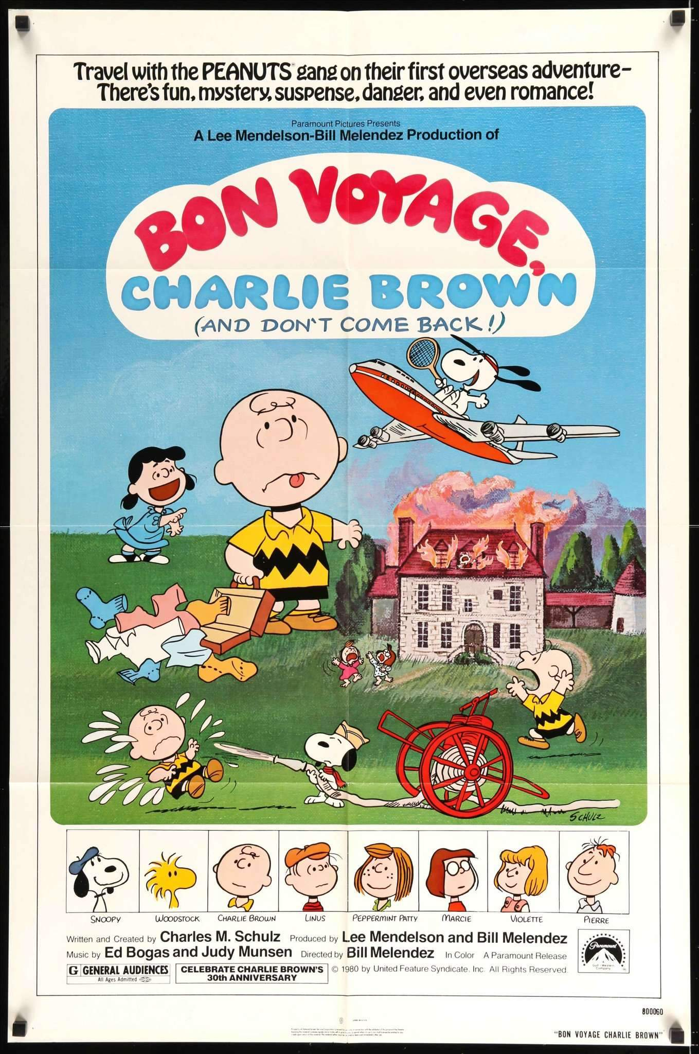 SNOOPY RED WHITE /& BLUE # 90 CHARLIE BROWN PEANUTS