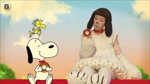 ミスドCM なつかCM 仲里依紗 米粉ドーナツ 「2匹のスヌーピー」篇
