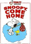 Snoopy Come Home DVD 2015