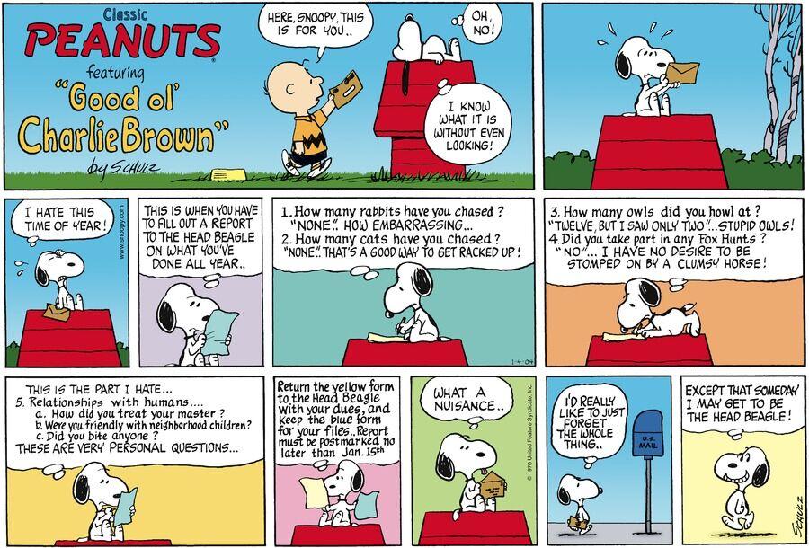 Comic strip pdf peanuts