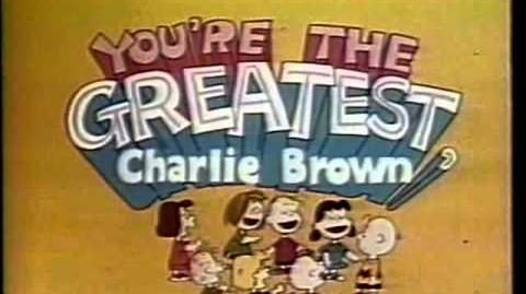 CBS promo You're the Greatest, Charlie Brown 1979