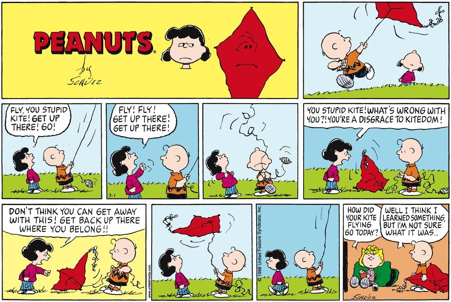 March 1998 Comic Strips Peanuts Wiki Fandom