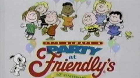 1995 Friendly's Peanuts Commercial