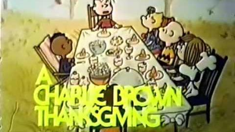 CBS promo A Charlie Brown Thanksgiving 1973