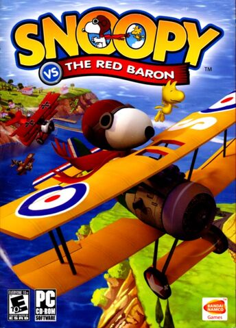 File:Snoopy Vs. the Red Baron cover.jpeg