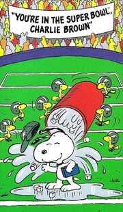 You're in the Super Bowl, Charlie Brown cover
