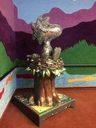 Woodstock reflective statue