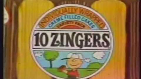 Dolly Madison Zingers Commercial (Peanuts) 1980